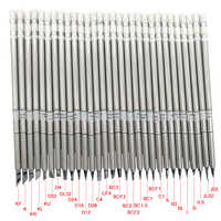 QUICKO Normal Tip sets Electronic Soldering Iron Tips Solder Iron 220v Welding Tip For Soldering Repair Station