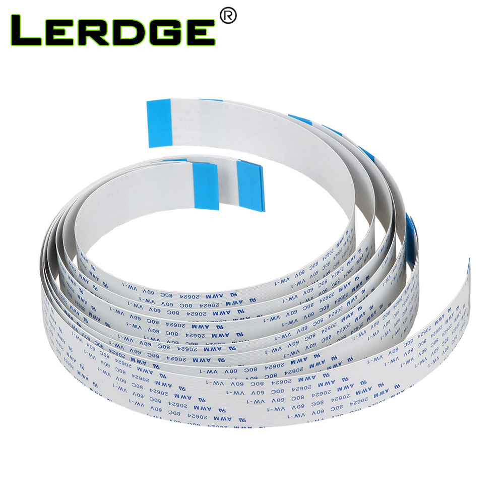 LERDGE 3D Printer Parts Board Touch Screen FFC FPC Flexible Display Cable AWM 36pin Length Optional For Lerdge Board