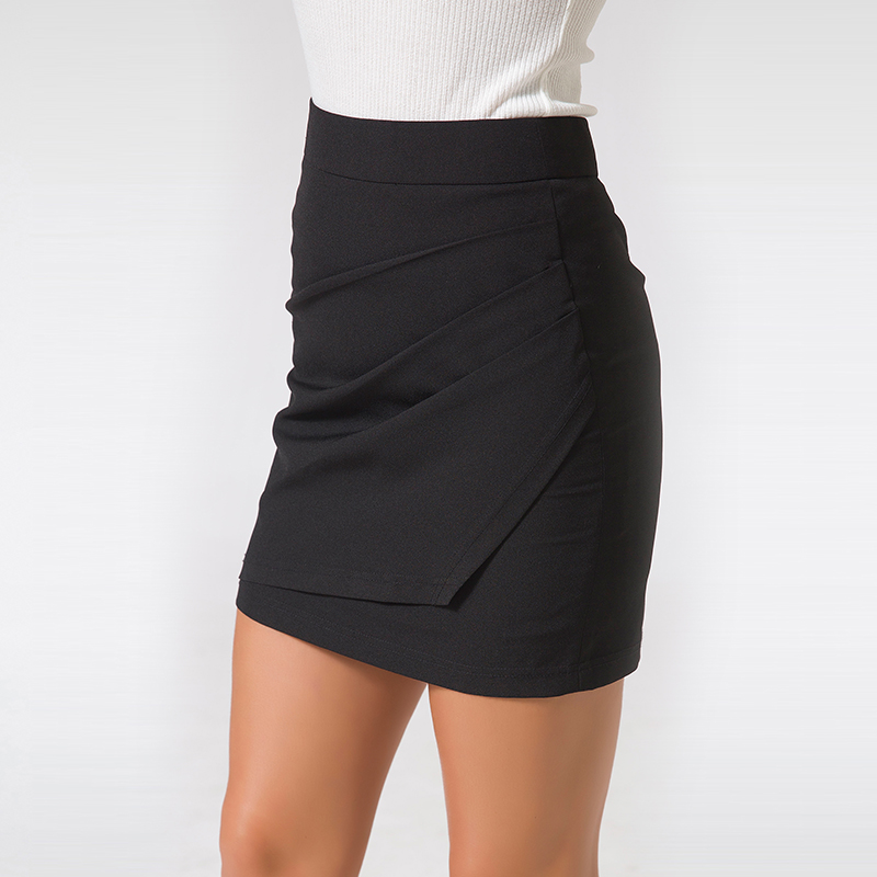 XS-5XL Plus Size Black Pencil Skirt Summer 2018 Bodycon High Waist Skirts Work Office Slim Women's Tight Sexy Mini Skirt Zevrez 8