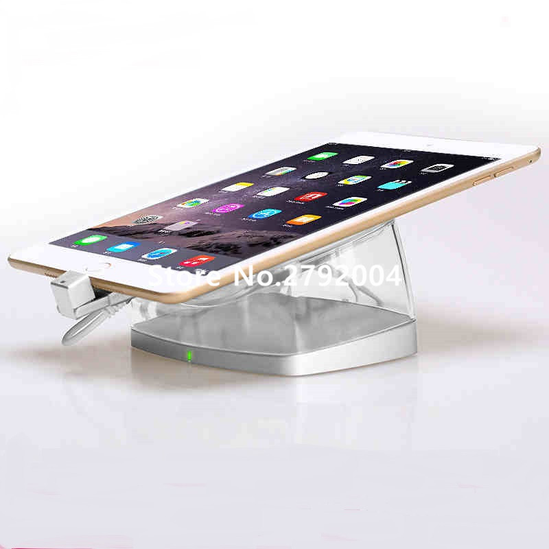 5 set/lot New secure ipad anti-theft alarm device stand for retail security display цены