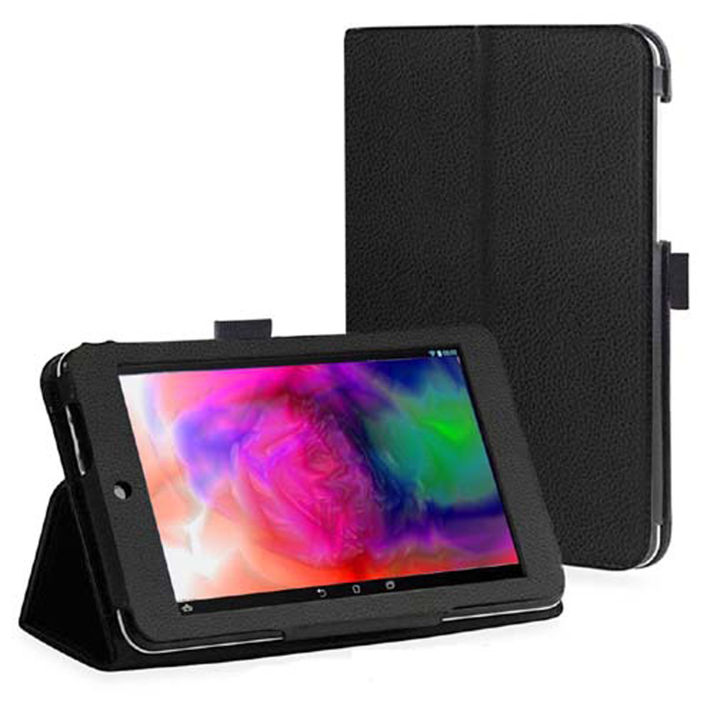 New 2-Folder Luxury Magnetic Folio Stand Leather Case Protective Cover For ASUS MemoPad HD 7 HD7 ME173 ME173X K00B K00U 7