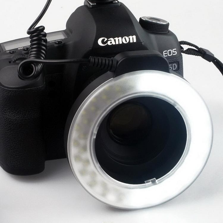 WANSEN WSLED48 makro valgustus 48 LED-videorõnga välklamp Nikon - Kaamera ja foto - Foto 5