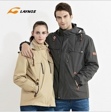 Free Shipping-New Hot sale Winter/Autumn Lover Outdoor Sport 3in1 Twinset Water/Windproof Skiing Mountaineering Jackets 160A392A