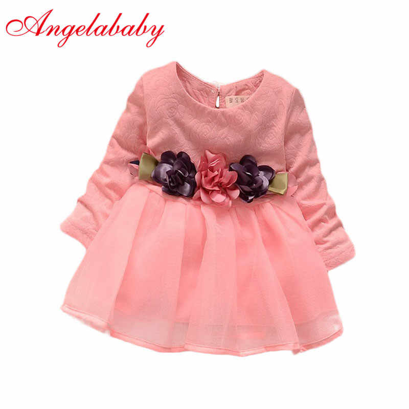 c7e86996913c7 2019 winter newborn fancy infant baby dresses girl frocks designs party  wedding with long sleeves jacadi 1 year birthday dresses