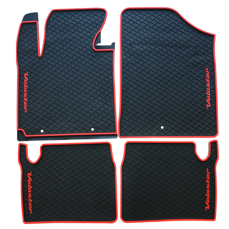 Free Ship Rubber Feet Waterproof Resistant Car Mats Latex