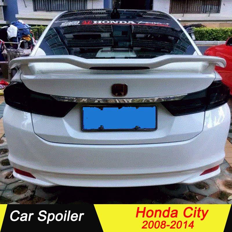 Pour honda CITY 2008 2009 2010 2011 2012 2013 ABS becquet de voiture décoration aile arrière style GT becquet de coffre arrière pour honda city