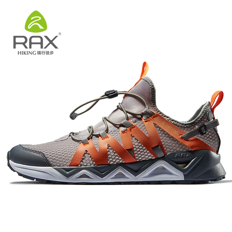цена Rax Mens Trekking Shoes Hiking Shoes Mountain Walking Sneakers For Men Women Hiking Sneakers Sports Breathable Climbing Shoes