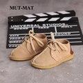 Детская повседневная обувь; Новая Осенняя модная обувь для мальчиков и девочек; Кожаная детская обувь с мягкой подошвой