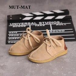 Dla dzieci buty w stylu casual jesień nowe chłopców i dziewcząt modne buty low-top skórzane dziecięce miękkie dno buty