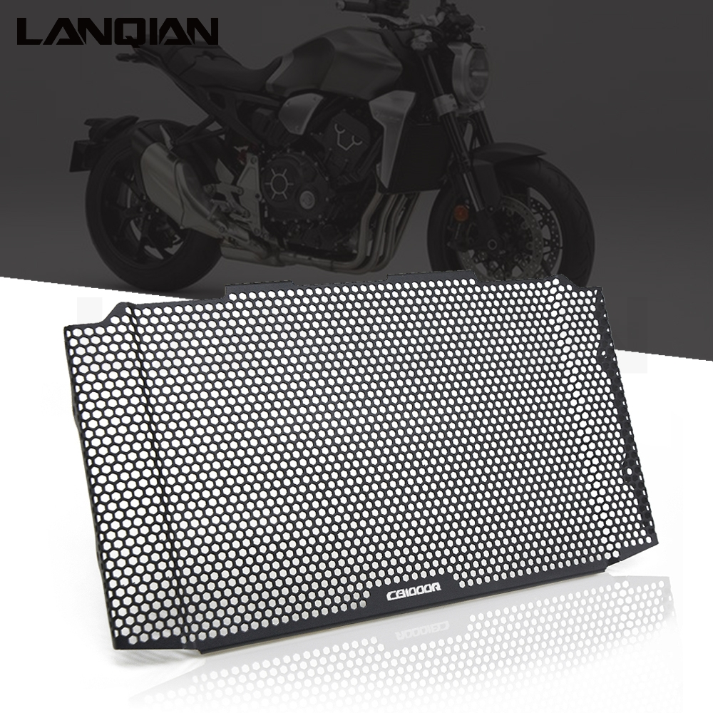 Original For Honda cb1000r CB 1000R 2018 2019 Black CNC Radiator Grille Guard Cover Protector Motorcycle