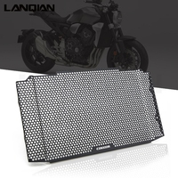 Original For Honda cb1000r CB 1000R 2018 2019 Black CNC Radiator Grille Guard Cover Protector Motorcycle Accessories With LOGO
