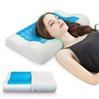 Комфортная пена с эффектом памяти подушка для расслабляющего охлаждения сна помогает вам облегчить боль в шее и плечах всю ночь