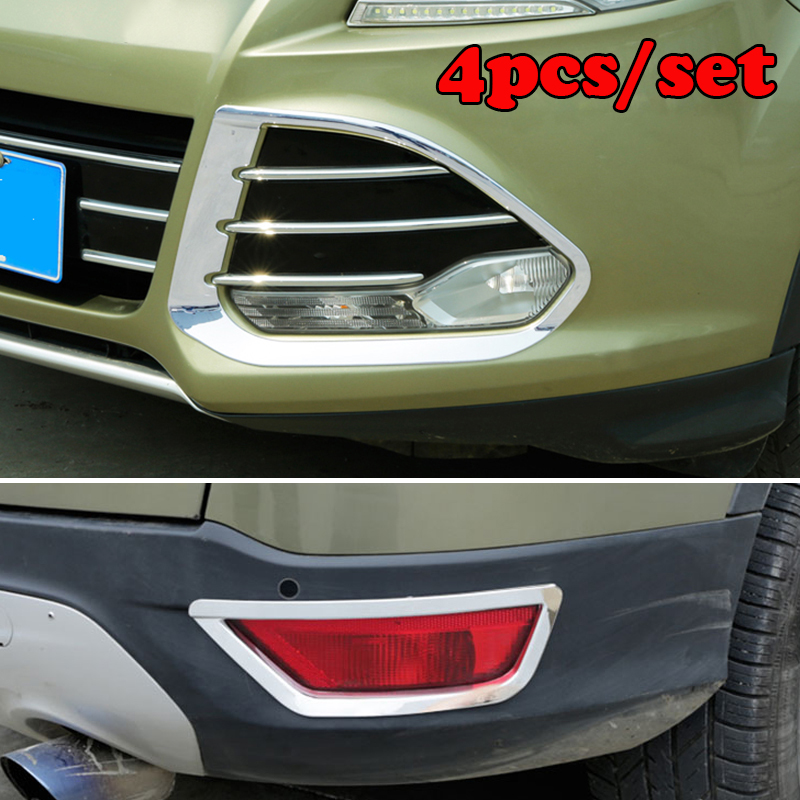 FIT FOR 2013 2014 2015 2016 FORD ESCAPE KUGA CHROME FRONT