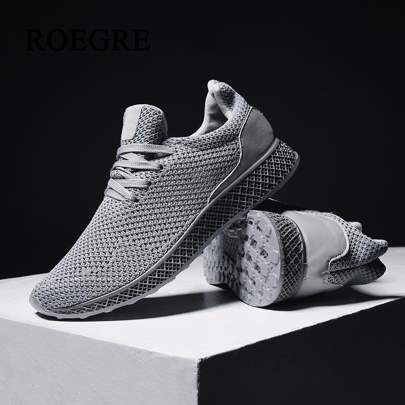 d58135142a7 ROEGRE 2017 Autumn Designed Fly Weave Men's Casual Shoes Future Theory Male  Breathable Lace Up Leisure Chaussure Shoes-in Men's Casual Shoes from Shoes  on ...