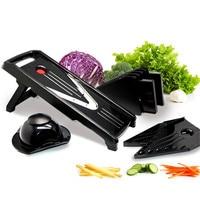 VOGVIGO Manual Mandoline Slicer Multifunction Vegetable Cutter Set with 5 Blade Potato Carrot Cutter Kitchen Tool For Kitchen