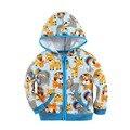 Alta qualidade baby com capuz de algodão 100 com bonito padrão de bordado 2015B1
