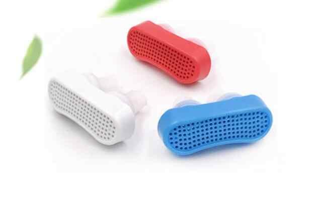 アップグレードシリコーンアンチいびき鼻拡張器時無呼吸援助デバイス停止いびきノーズクリップ鼻呼吸装置停止いびきデバイス