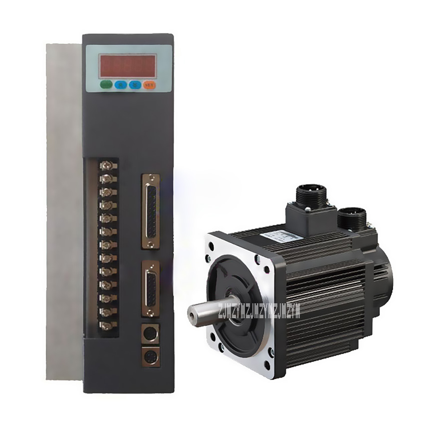 New 3.8KW 130ST-M15025  Three-phase AC Servo Motor + Driver 220v 2500rpm Servo Motor 15N.M ac Servo Drive And Motor Hot Selling used 100% tested mcdht3520e ac servo drive mcdht3520e for pan servo driver mcdht3520e