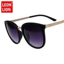 LEONLION Übergroße Runde Sonnenbrille Frauen Marke Designer Luxus Mode Brillen Großen Shades Sonnenbrille Retro Zonnebril Dames