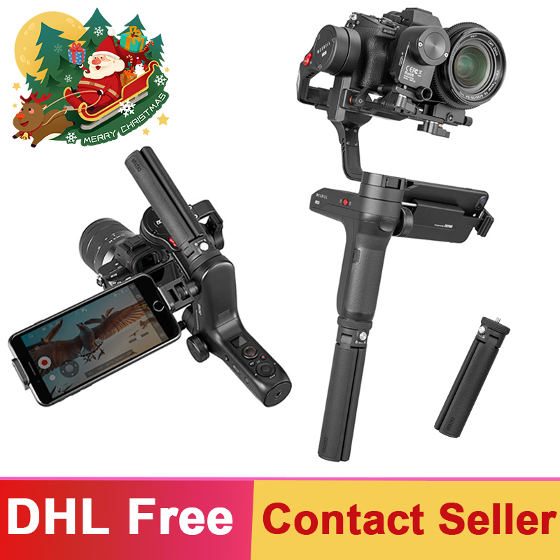 Zhiyun Weebill Lab 3-Axis Brushless Handheld Gimbal 3 kgPayload Stabilizzatore per Fotocamera Mirrorless Estabilizar Sony PK DJI Ronin S