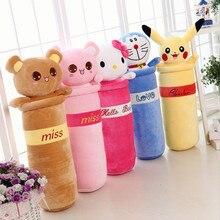New Cartoon 55cm Large Plush Toy Kids Sleeping stuffed Pillow Cute Elephant Bear Pikachu Mickey Dolls Birthday Gift for Kids