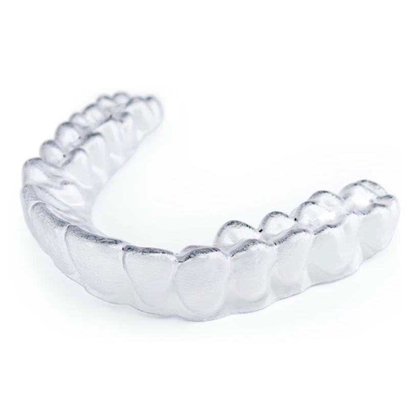 2 Pcs Teeth Whitening Trays Thermoforming Mouthguard Bleaching Tooth Whitener Mouth Guard Dental Brace Oral Hygiene Care Tool