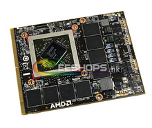 Véritable pour AMD Radeon HD 6970 M HD6970 HD6970M GDDR5 2 GB Vidéo Carte graphique pour Dell Alienware M15X M17X M18X R2 R3 Portable PC