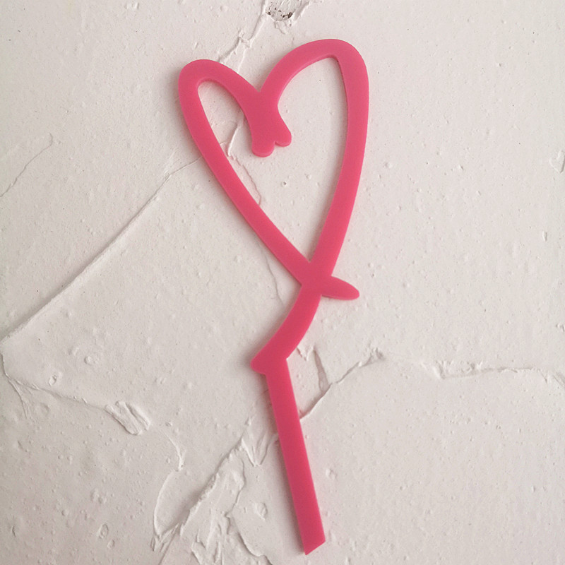 New-Acrylic-Cake-Topper-Gold-Silver-Red-Heart-Love-Acrylic-Cupcake-Topper-For-Wedding-Valentine-s (3)