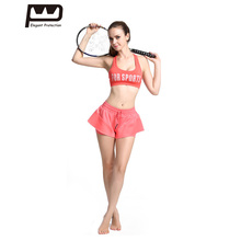 ФОТО  Style Women Yoga Sport Suit Print 2 Piece Training Tracksuits  Fitness Quick-dry Shockproof Bras with Stretched Pants