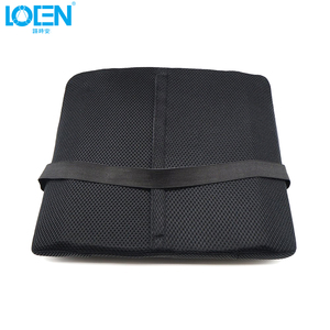 Image 4 - 1PCS Breathable Mesh Cloth Car Seat Lumbar Cushion Pillows Soft Cotton Back Support for Car Seat Lumbar Support For Office Chair