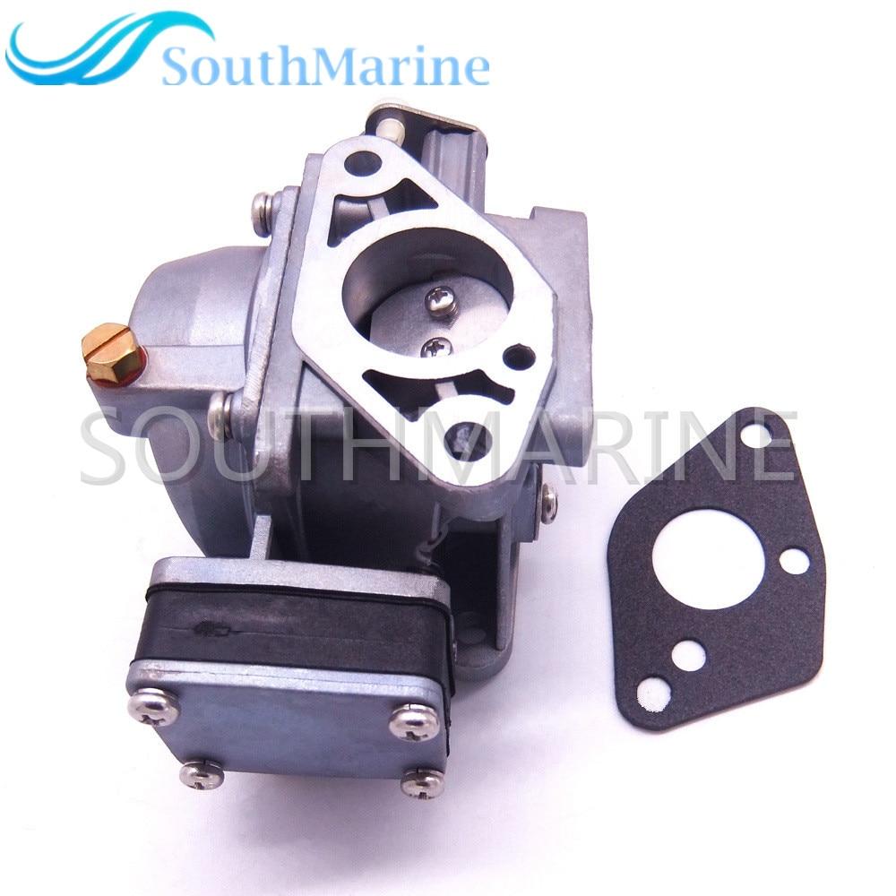Boat Engine 3B2 03200 1 3K9 03200 0 Carburetor Assy and 369 02011 0 Gasket for