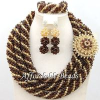 Hot Selling Fashion Beads Set Best Sale Wedding Jewelry Set Splendid Design Wholesale Free Shipping NCD002