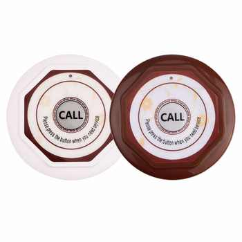 Retekess Restaurant Guest Pager Wireless Waiter Calling System For Cafe 3 Wrist Watch Receiver+15 Call Button Transmitter F3360