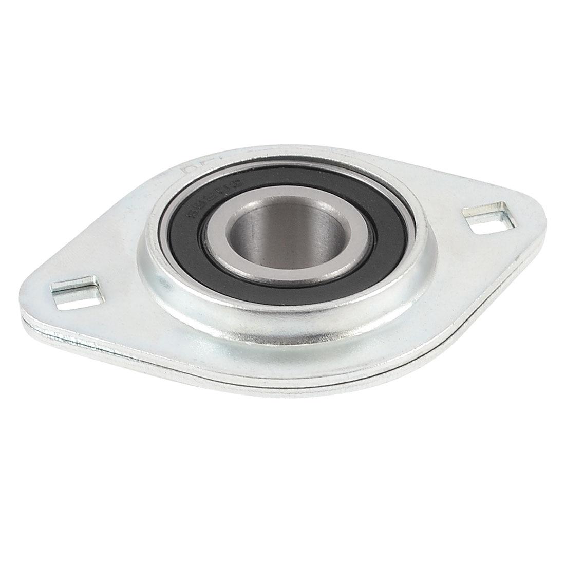 Stainless Steel Pillow Block 17Mm X 25Mm X 22Mm Screw Set Ball Bearing 2pcs s608zz s608 2z stainless steel ball bearing 8 x 22 x 7mm