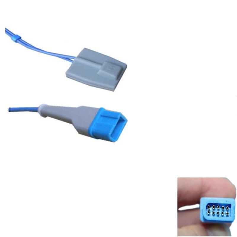 Spo2 Sensor with Pediatric sofftip silicone oxygen end type,Compatible for Spacelabs 1050,1600,1700,3M 10pin,TPU Spo2 ProbeSpo2 Sensor with Pediatric sofftip silicone oxygen end type,Compatible for Spacelabs 1050,1600,1700,3M 10pin,TPU Spo2 Probe