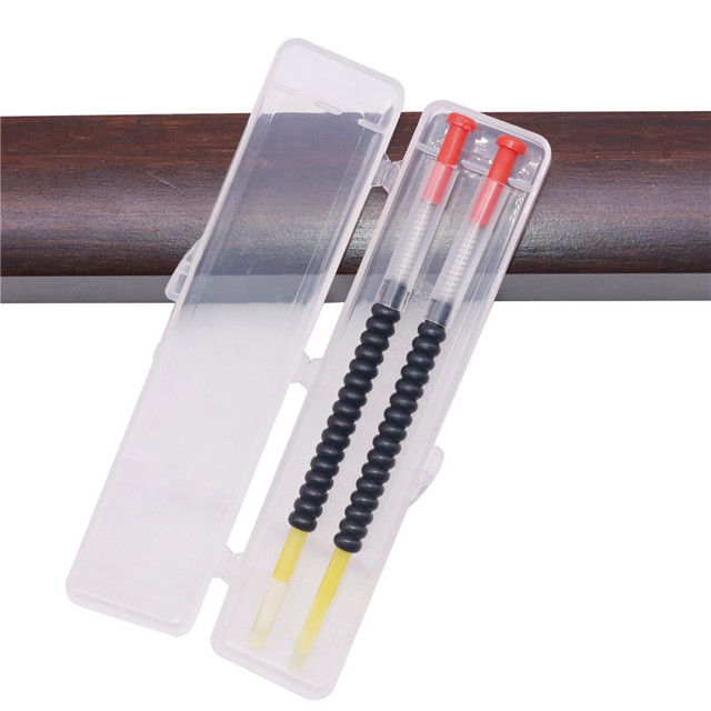 1 Box 2 pcs Beekeeping Grafting Tool Bee Queen Larva Apiculture Retractable Grafting Equipment New Supplies With Spring