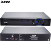 GADINAN ONVIF CCTV NVR 32CH 1080P/8CH 5M/16CH 4M Security Network Recorder HDMI 1080P full HD Output Support Wifi 3G RTSP