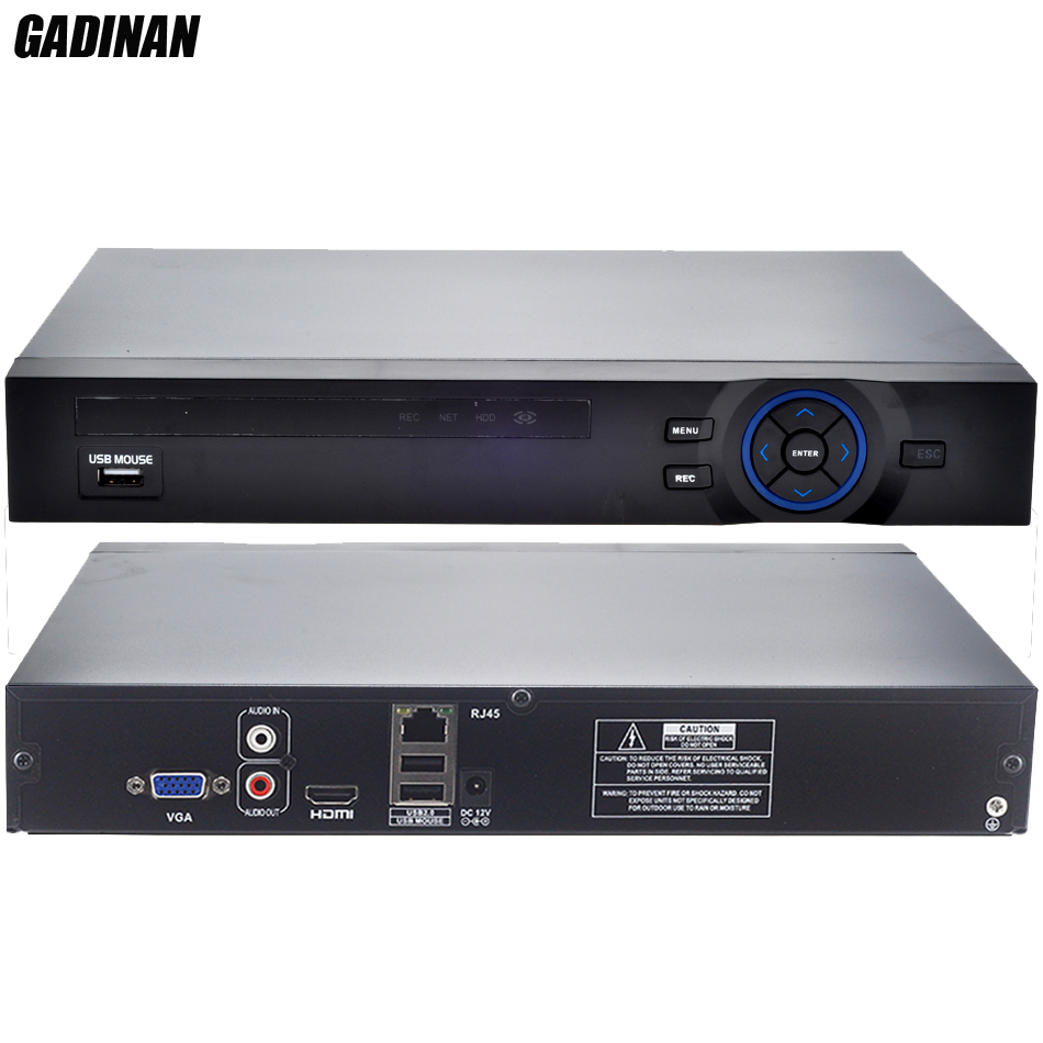 GADINAN ONVIF CCTV NVR 32CH 1080 P/8CH 5 м/16CH 4 м безопасности сети регистраторы HDMI 1080P Full HD выход Поддержка Wi Fi 3g RTSP
