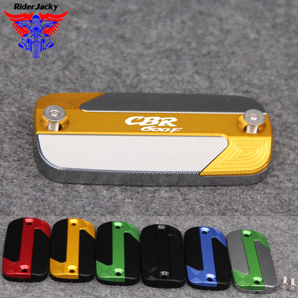 For <font><b>Honda</b></font> <font><b>CBR</b></font> <font><b>600F</b></font> CBR600F 2000-2014 2010 2011 2012 2013 NEW Motorcycle Front Brake Master Cylinder Fluid Reservoir Cover image