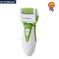 KIMISKY Grün Top Glatte Starke Elektrische Pediküre Werkzeuge Fußfeile Elektrische PK Scholls datei Fußpflege Werkzeug 1 Roller Köpfe