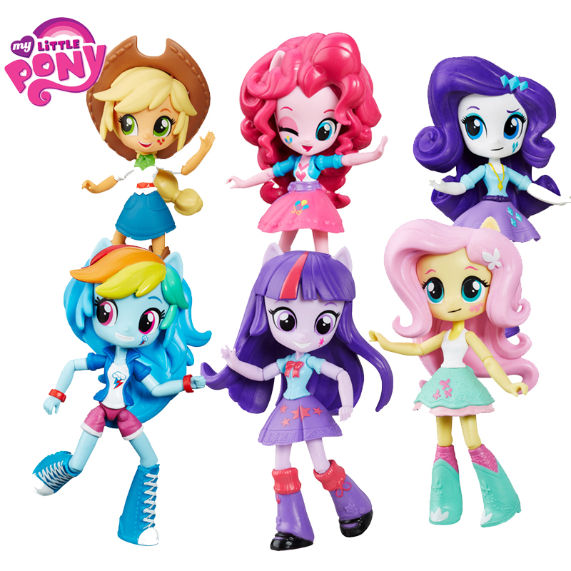 My Little Pony Celestia Joints Move Rainbow Model PVC Action Figure Anime Hot Model Dolls Toys For Children Bonecas Birthday Toy