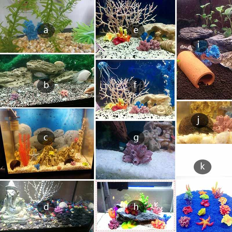 الاصطناعي أكوا الأحمر الراتنج البحر البحرية المرجانية حوض السمك للدبابات الرئيسية الديكور المناظر الطبيعية الحيوانات الأليفة الزخرفية إمدادات اللعب