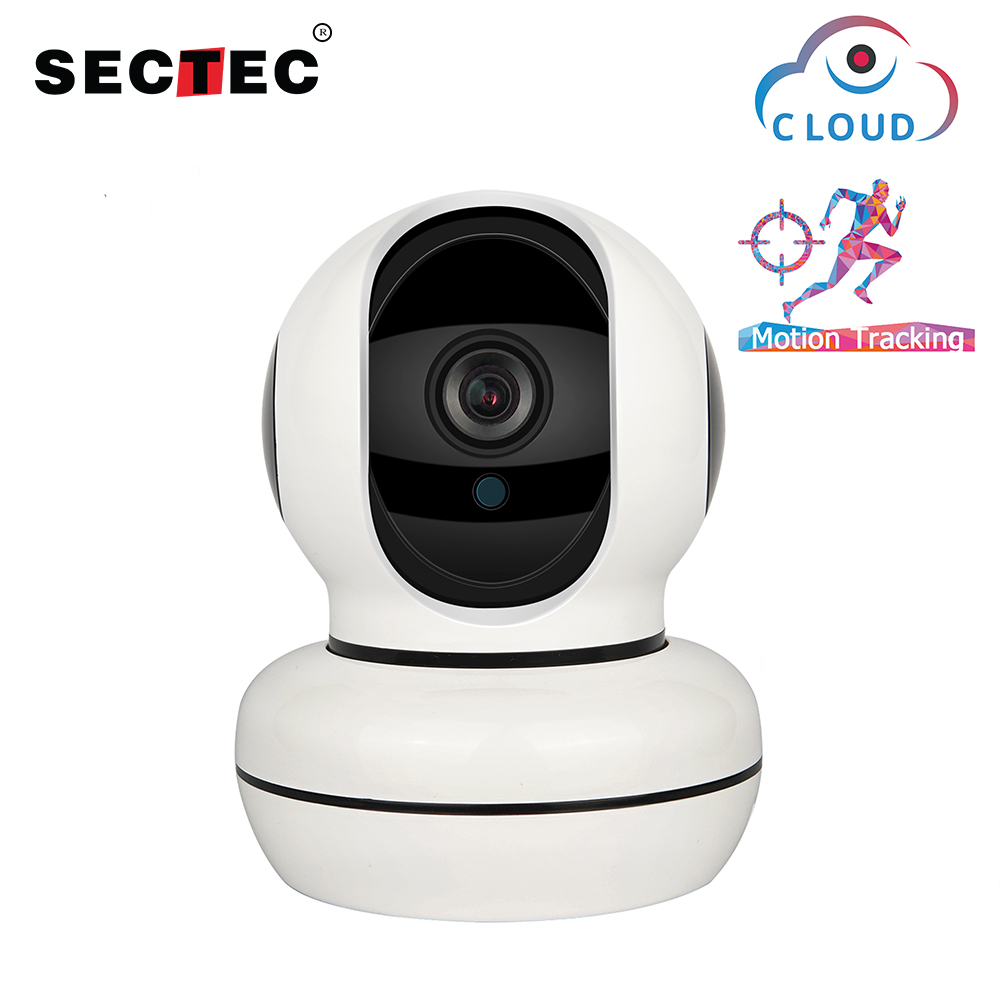 SECTEC Cloud 1080P IP Camera Intelligent Auto Tracking Of Human Home Security Surveillance CCTV Network WiFi cam Baby Monitor