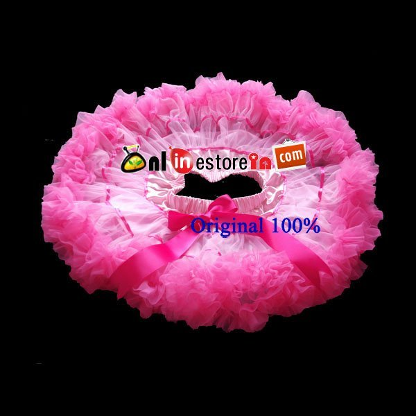 Wholesale kids ribbons skirt baby pink with hot pink girl skirts baby skirt girls tutu girls petticoat skirts