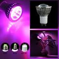 6W 10W Full Spectrum Grow light E27/E14/GU10 LED Grow lamp bulb 6leds 10leds for Flower plant Hydroponics Grow/Bloom Flowering