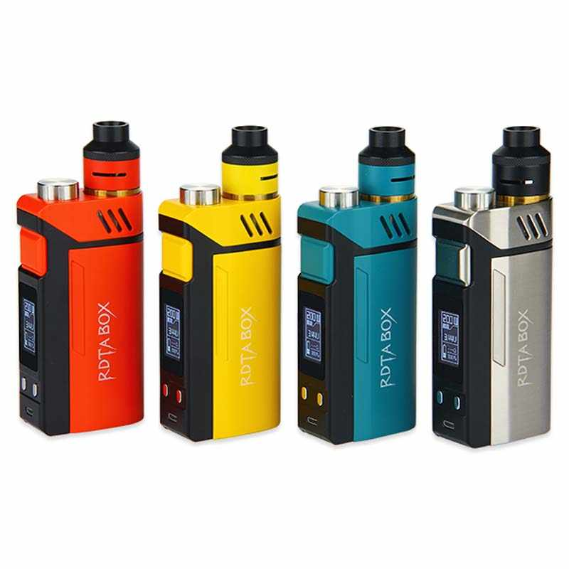Электронная сигарета IJOY RDTA, в наличии, 200 Вт, набор, емкость для электронных соков 12,8 мл, NI/TI/SS, со строительным блоком IMC, 100% оригинал
