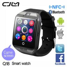 Cjlm SmartWatch Q18 Apro Android Smart watch  Support TF&SIM Card NFC Camera Bluetooth Montre Connecter For Android/IOS