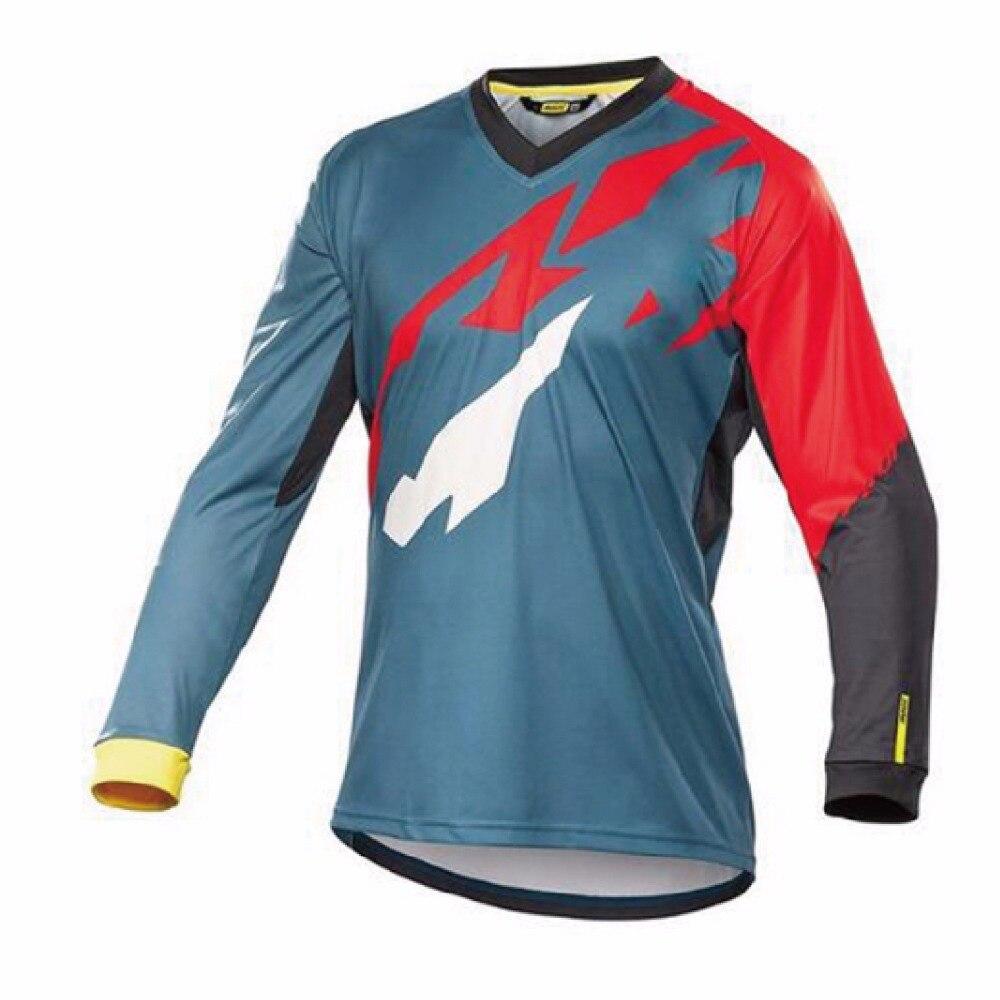 Brand-100% <font><b>polyester</b></font> <font><b>motorcycle</b></font> <font><b>jersey</b></font> <font><b>long</b></font> <font><b>sleeve</b></font> <font><b>Quick</b></font> dry motorbike racing wear mens cycling shirts <font><b>KTM</b></font> Motocross <font><b>Jerseys</b></font> XXS