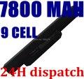 7800 mah batería del ordenador portátil a32-k53 para asus a43e a53s k43e k43u k43s X84 X54 X54C X54H K43SJ K53S K53SV K53T K53 K53E K53SD X44H