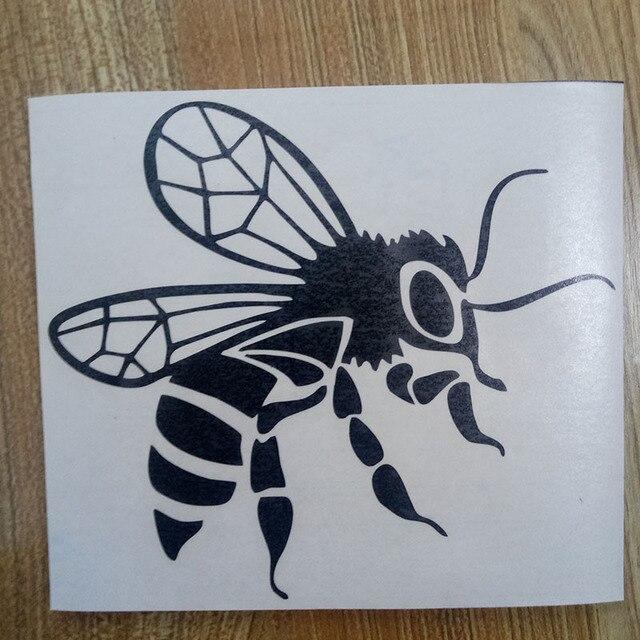 BEE vinyl Sticker Decal Bijenteelt Imker Honing Bijen Bijenkorf auto vrachtwagen venster